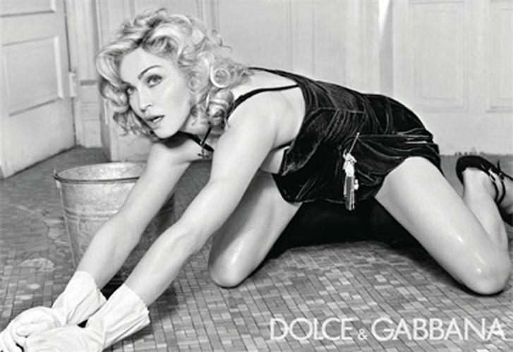 Madonna friega para Dolce & Gabbana