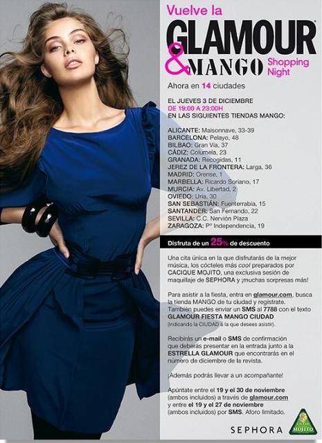 Glamour & Mango Shopping Night 2009