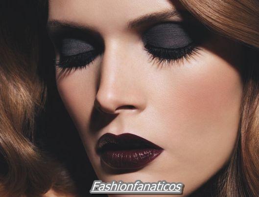 El color negro triunfa en el maquillaje del 2012
