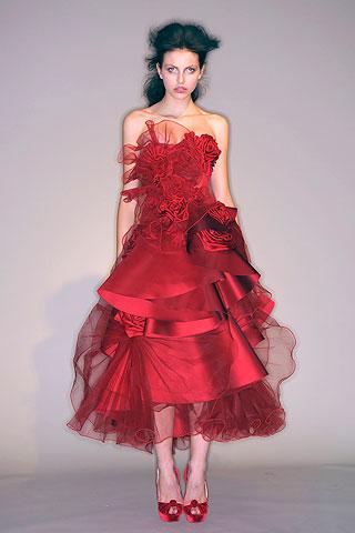 Marchesa otoño/invierno 2010-2011 en la New York Fashion Week