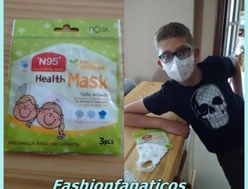 Nuevas mascarillas infantiles de Nosk España