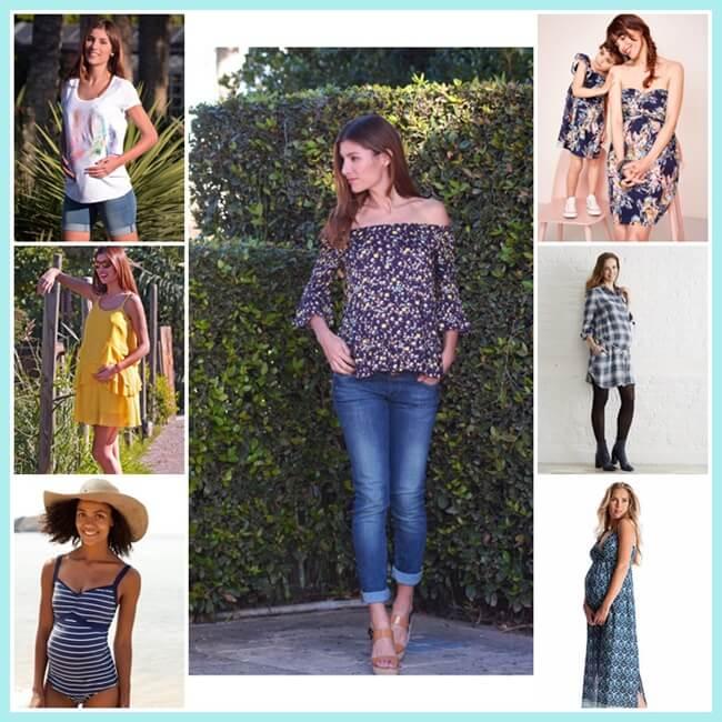 Tiendas online de ropa premamá para ir a la moda