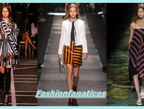 modelos con ropa con rayas