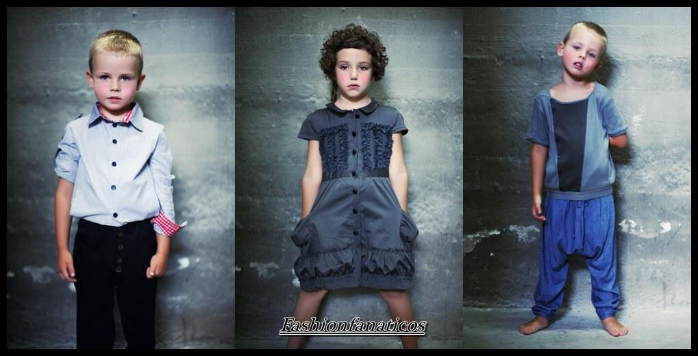 diseños ropa infantil de la marca No venimos de París