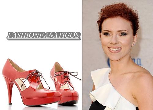 Scarlett Johanson diseñadora de zapatos