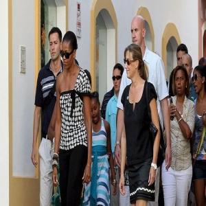 Michelle Obama, De Shopping Malagueño