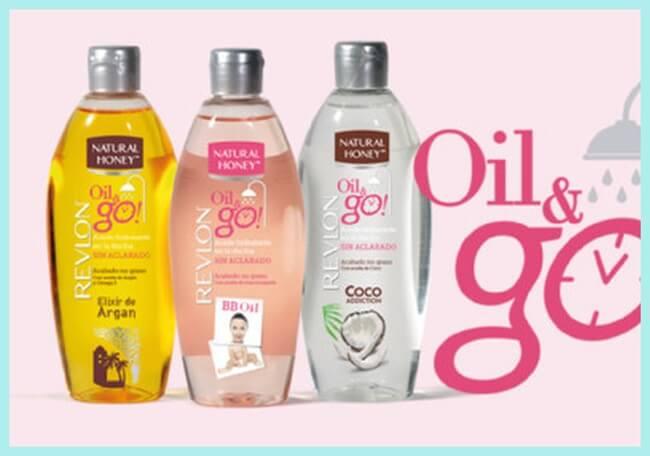 Probando el nuevo Oil&Go de Natural Honey