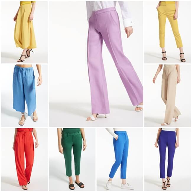 Pantalones de colores, toda una tendencia entre las celebrities