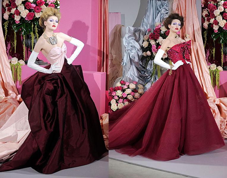 Colección de Alta Costura Christian Dior primavera/verano 2010
