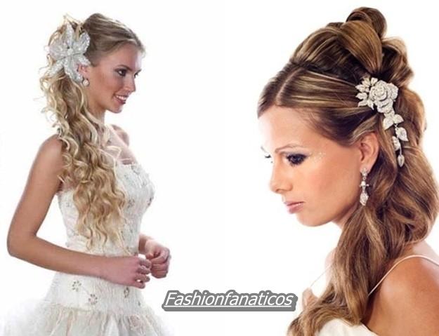 Peinados de novia 2012