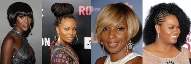 Peinados para mujeres de raza negra