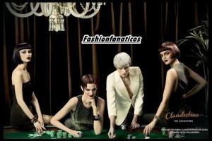 4 modelos luciendo peinados de fiesta cortos