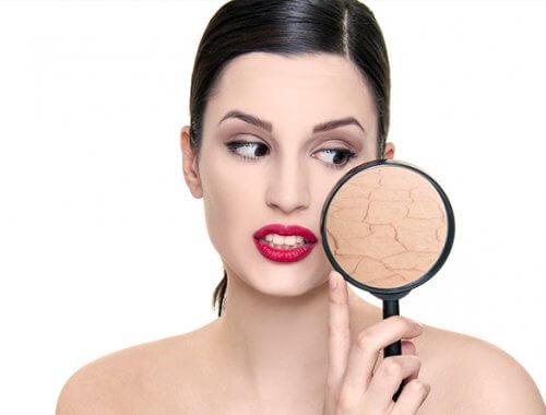 Cosméticos naturales para la piel seca