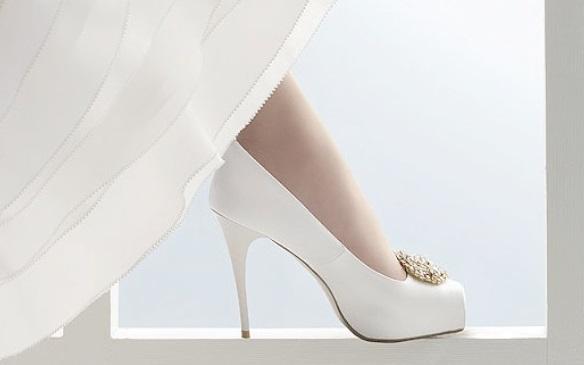 Calzado para novias, tendencias 2010