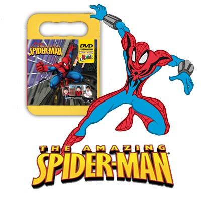 Regala a tu hij@ un DVD Personalizado de Spiderman