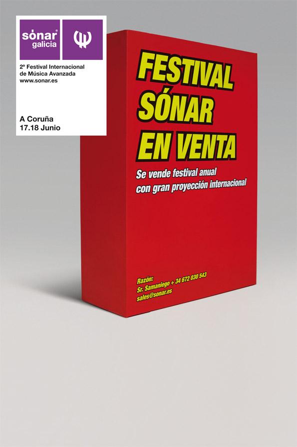 Vanidad sortea 6 abonos para Sónar Galicia