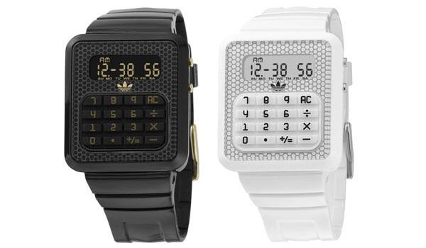 Los relojes calculadora de Adidas Originals