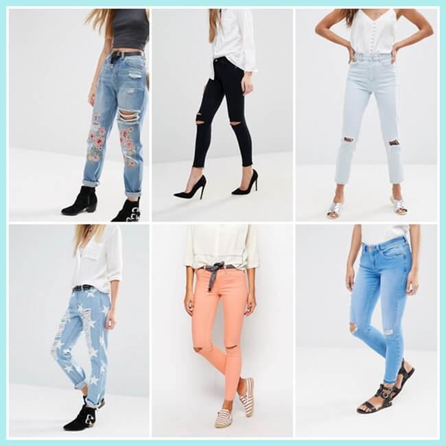 ripped jeans de asos