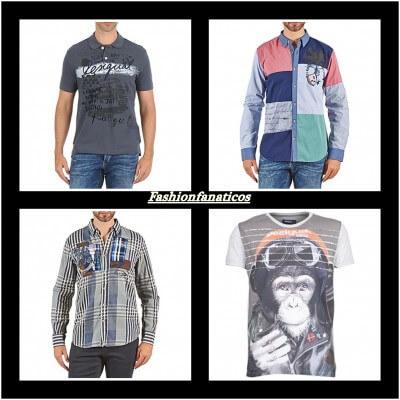 camisas y camisetas para hombre de Desigual
