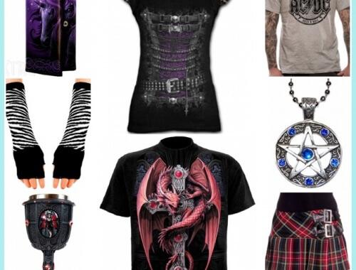 ropa gótica y complementos de xtrem