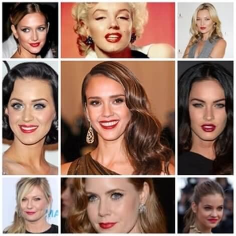 El rouge de labios sigue siendo tendencia