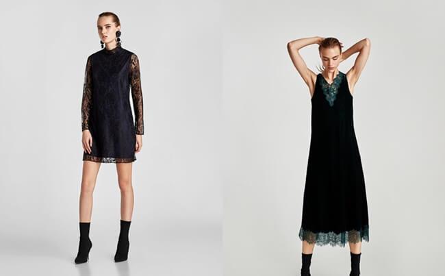 Tendencias moda, se llevan los Vestidos de Encaje