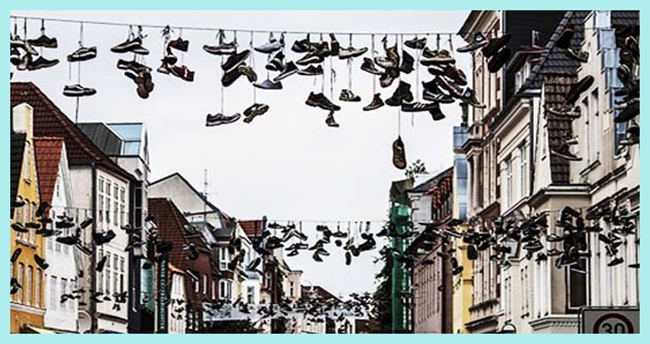 Shoefiti: ¿moda o estupidez?
