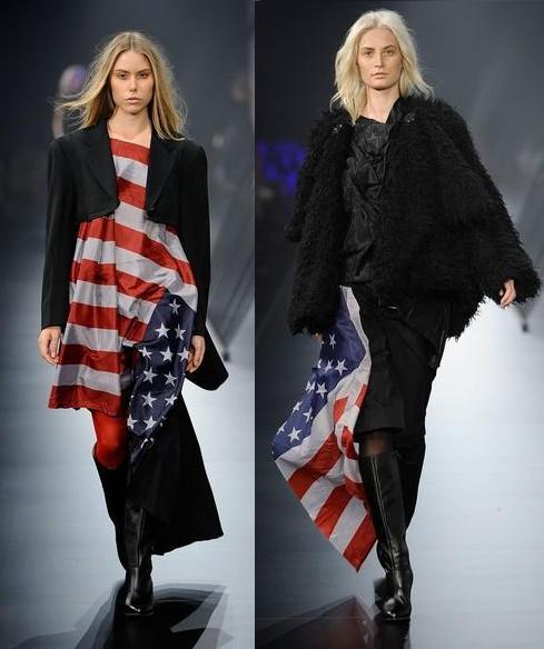 La moda de la American Flag