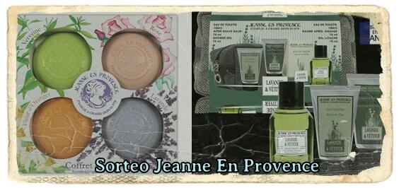 Sorteo doble Jeanne en Provence para hombre y mujer