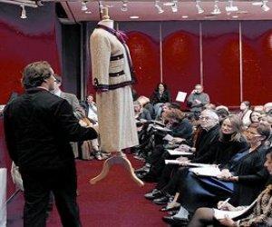 Realizaron una gran subasta de Chanel en París