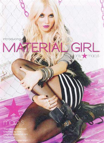 Taylor Momsen se convierte en una Material Girl