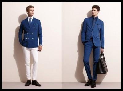 blazers de hombre sencilla y con botonadura doble