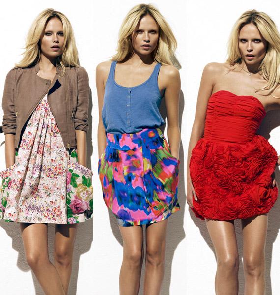 The Garden: La colección verde y romántica de H&M para la primavera 2010