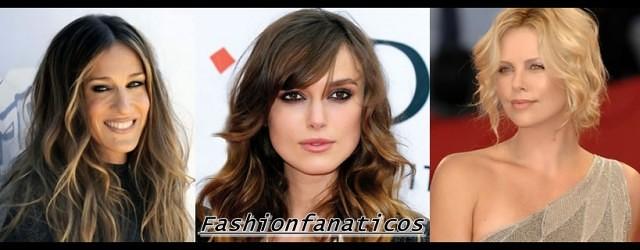 peinados de famosas según su óvalo facial
