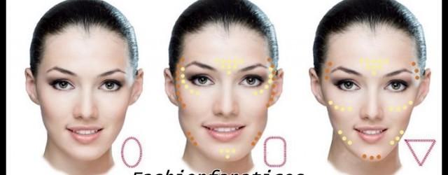 maquillaje según el tipo de rostro