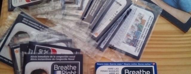 tiras nasales Breathe Right de campaña The Insiders