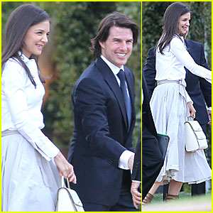 Cruise Katie Holmes Wedding on Tom Cruise Katie Holmes Brad Grey Wedding
