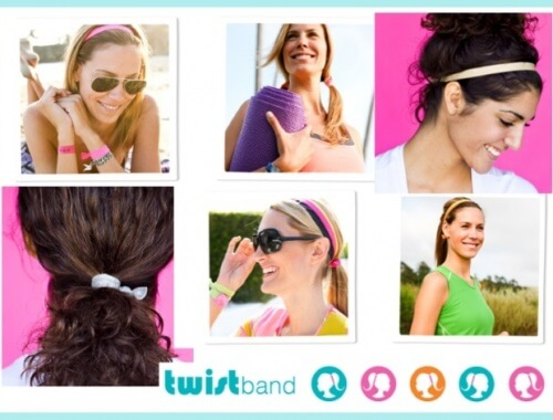 chicas con twistbands