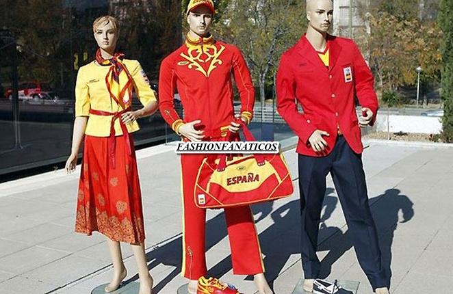 El chandal olímpico español crea polémica