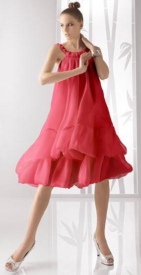 Rosa Clará, vestidos de fiesta 2010