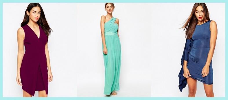 Tendencia: vestidos asimétricos