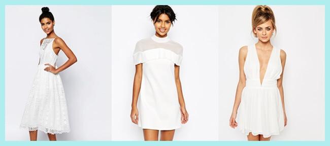 Vestidos blancos para este verano