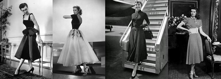 Vestidos con mucho glamour