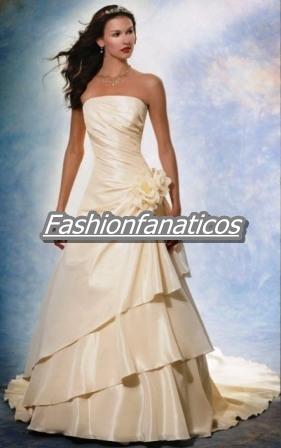 vestidos-novia-beige-flor