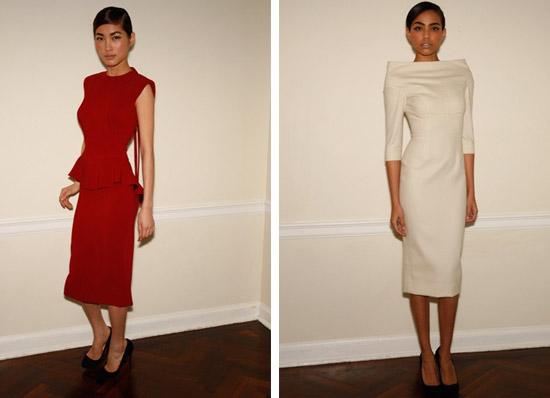 Victoria Beckham y su colección para Otoño-Invierno 2009-2010