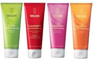 Cuida la belleza de tu piel con los geles de ducha cremosos de Weleda