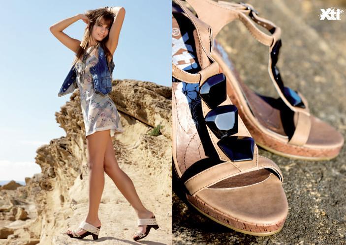 Michelle Jenner nos muestra la nueva colección de calzado XTI
