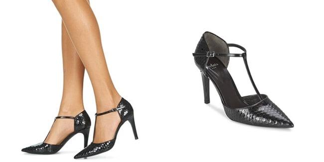 zapatos tacón de Perlato
