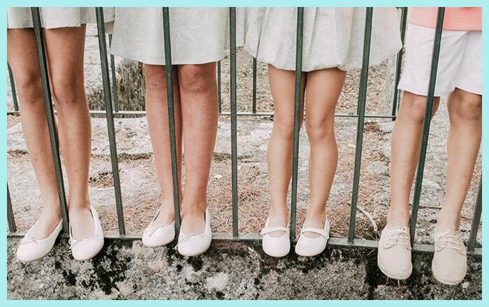 Zapatos de Comunión buenos, bonitos y baratos