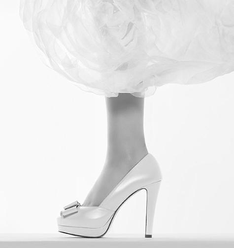 Rosa Clará colección zapatos novia primavera/verano 2010